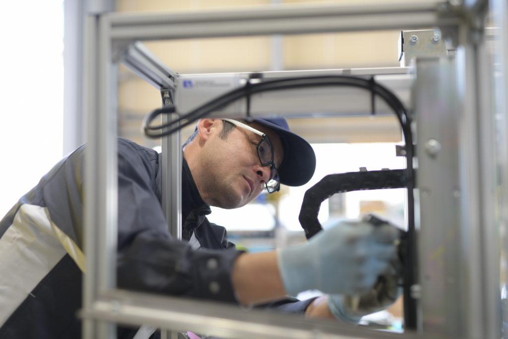他社製品の機械も修理可能